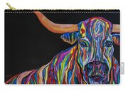 Crazy Woman Bull Carry-all Pouch