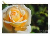 Cream Rose Carry-all Pouch