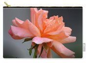 Creamy Peach Rose Carry-all Pouch