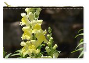 Creamy Yellow Snapdragon Carry-all Pouch