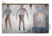 Creation Of Man And Woman Carry-all Pouch
