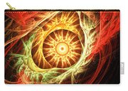 Creation Of Sun Carry-all Pouch by Lourry Legarde