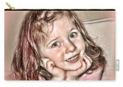 Creative Portrait Sample In Hdr Carry-all Pouch