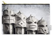 Creatures Of La Pedrera Bw Carry-all Pouch