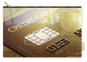 Credit Card Macro - 3d Graphic Carry-all Pouch