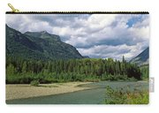 Creek Along Mountains, Mcdonald Creek Carry-all Pouch