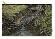 Creek  Carry-all Pouch by Janet Felts