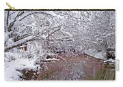 Creekside In The Snow 2 Carry-all Pouch