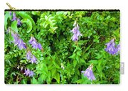 Creeping Bellflower Carry-all Pouch