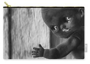 Creepy Baby Bw Carry-all Pouch