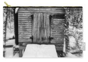 Creepy Cabin In The Woods Carry-all Pouch by Edward Fielding