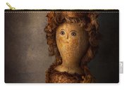 Creepy - Doll - Matilda Carry-all Pouch by Mike Savad