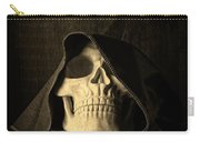 Creepy Hooded Skull Carry-all Pouch
