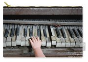 Creepy Piano Baby Carry-all Pouch