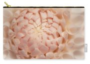 Creme Dahlia Carry-all Pouch