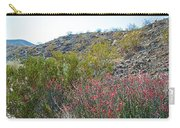 Creosote And Chuparosa On Henderson Trail In Santa Rosa-san Jacinto Nmon-ca Carry-all Pouch