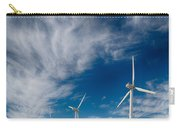 Creosote And Wind Turbines Carry-all Pouch