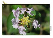Crepe Myrtle Blossom Ring Carry-all Pouch