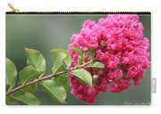 Crepe Myrtle Branch Carry-all Pouch
