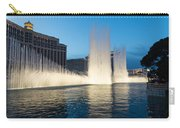 Crescendo - The Glorious Fountains At Bellagio Las Vegas Carry-all Pouch
