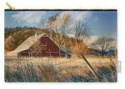 Crescent Barn In Winter Carry-all Pouch
