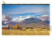 Crested Butte Autumn Landscape Panorama Carry-all Pouch