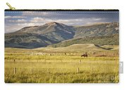 Crested Butte Ranch Carry-all Pouch