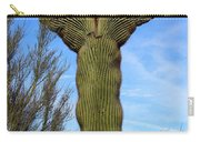 Crested Cactus Carry-all Pouch
