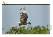 Crested Caracara Carry-all Pouch