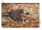 Crested Serpent Eagle Carry-all Pouch