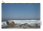 Crestwaves On A California Beach Carry-all Pouch
