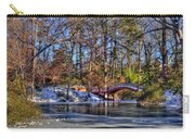 Crim Dell In Winter William And Mary Carry-all Pouch