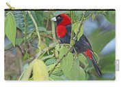 Crimson-collared Tanager Carry-all Pouch