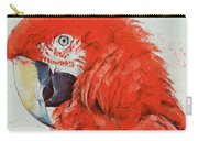Crimson Macaw Carry-all Pouch