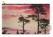 Crimson Sunset Splendor Carry-all Pouch by James Williamson