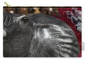 Crimson Tide For Christmas Carry-all Pouch by Kathy Clark