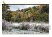 Crisp Morning Frost Hillside Landscape Carry-all Pouch