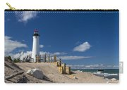 Crisp Point Lighthouse 18 Carry-all Pouch