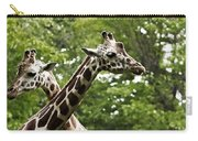 Crisscrossed Giraffes Carry-all Pouch