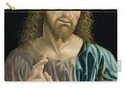 Cristo Salvator Mundi, C.1490-94 Carry-all Pouch