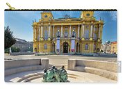 Croatian Nationa Theater In Zagreb Carry-all Pouch