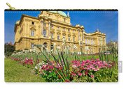 Croatian National Theatre Square In Zagreb Carry-all Pouch