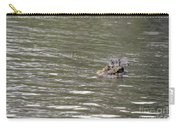 Crocodile   #0579 Carry-all Pouch