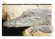Crocodile Fractal Carry-all Pouch