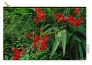 Crocosmia In Red Carry-all Pouch