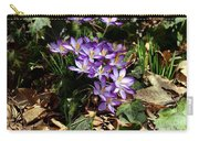 Crocus Amongst The Leaf Litter Carry-all Pouch