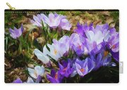 Crocus Fantasy Carry-all Pouch