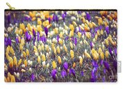 Crocus Field Carry-all Pouch