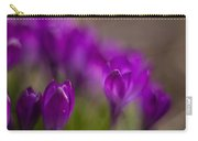 Crocus Purple Haze Carry-all Pouch