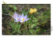 Crocuses In Bloom Carry-all Pouch